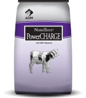 ADM NurseTrate PowerCHARGE Milk Replacer 25-20 W/Bovatec & Clarifly