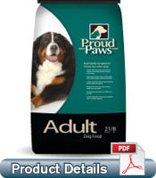 PROUD PAWS ADULT 21-8