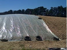 Oxygen Barrier 2 Mil Thick 50 Feet Wide 200 Feet Long Bunk Silo Plastic (More Sizes Available)