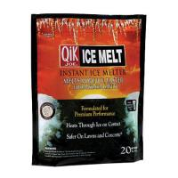 ICE MELT: Calcium Chloride Pellets 20 lb