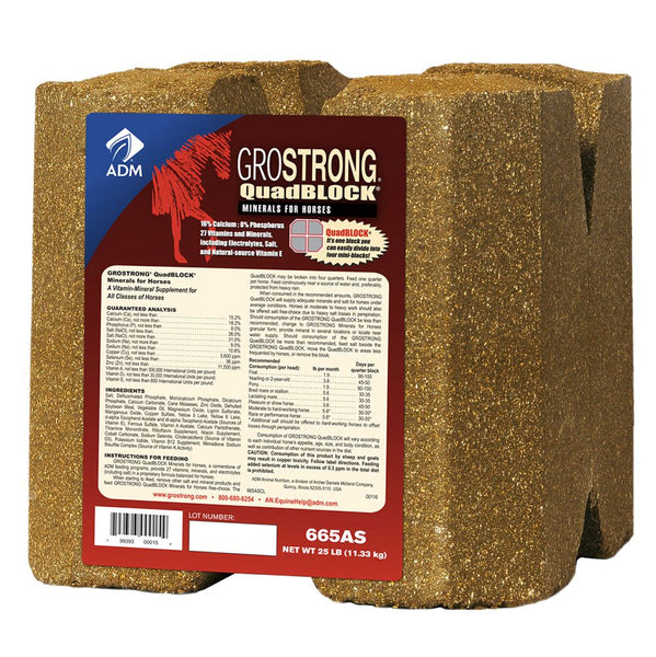 GROSTRONG QUAD BLOCK