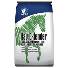 Forage First Hay Extender ADM Horse Feed Supplement.