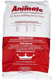 Animate Negative DCAD Feed Supplement 55 Lb Bag