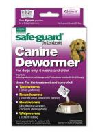 Safeguard Canine 40 Lb Dog 4 Gm (3 Doses/each)