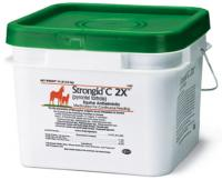 Strongid C 2X Equine Anthelmintic - Daily Pellet Dewormer for Horses
