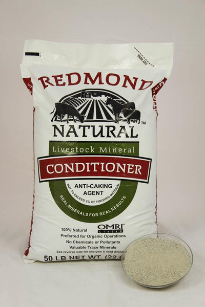 Redmond Conditioner Salt 50 Lb bags