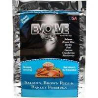 Evolve Cat Food Salmon/rice/barley 14lb Bag