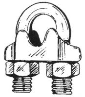 Wire Rope Clip 1/8""