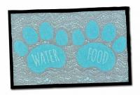 Loving Pet Food And Water Fashion Mat  - Animal Mat