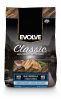 Evolve Dog Food Chicken/brown Rice 4/4lb Bag