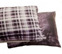 "Pet Bed 35"" X 44"" Flannel/fleece W/zipper"