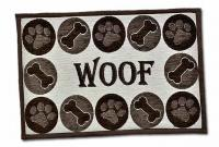 Loving Pet Woof Chenille Fashion Mat - Animal Mat