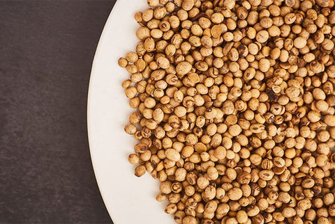 Course Ground Organic Roasted Soybeans Bulk By the ton. (Sheppard Grain)