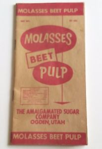 Beet Pulp & Dried Molasses 40 Lb Bag