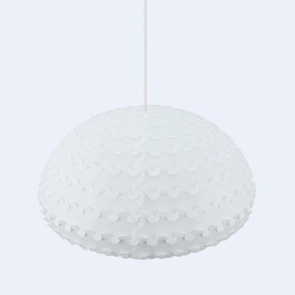 Laminated Rice Paper Ceiling Lamp from Japan by 24d-studio