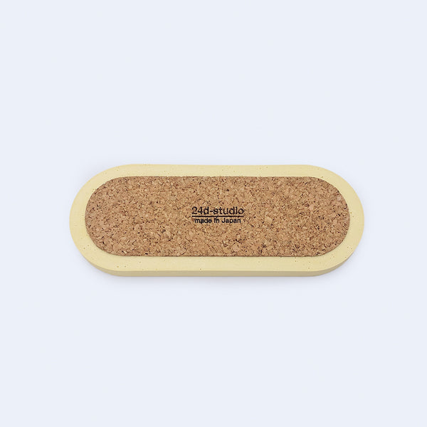 cork liner for botanica yellow tray by 24d-studio