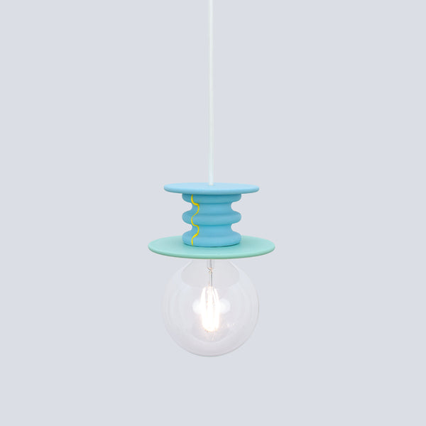 Blue and Green Pendant Lamp | Frutti