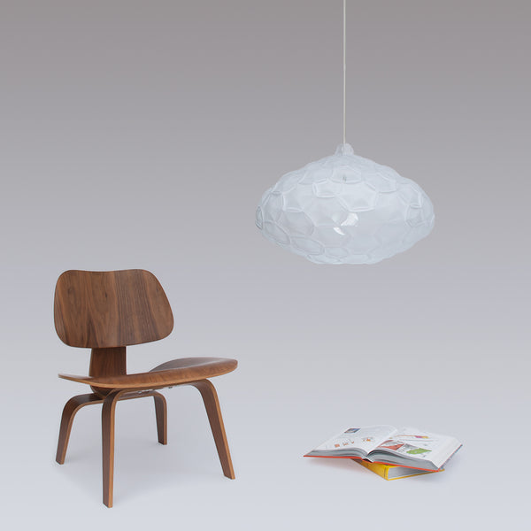 Large cloud white pendant lamp is perfect for living room, Airy Large Light by 24d-studio