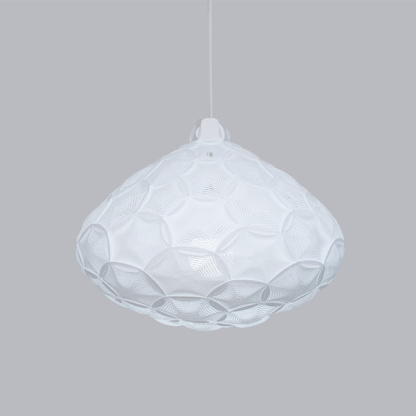 Mid size cloud lamp in white color Airy M made by 24d-studio in Japan