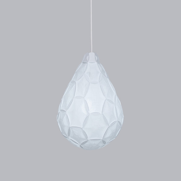 Airy Small Teardrop Lamp is inspired by a cloud transforming into raindrops