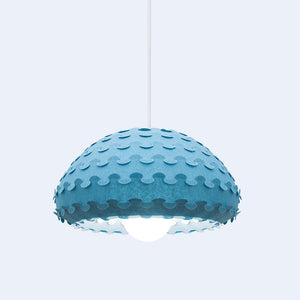 blue bell pendant lamp Kasa by 24d-studio