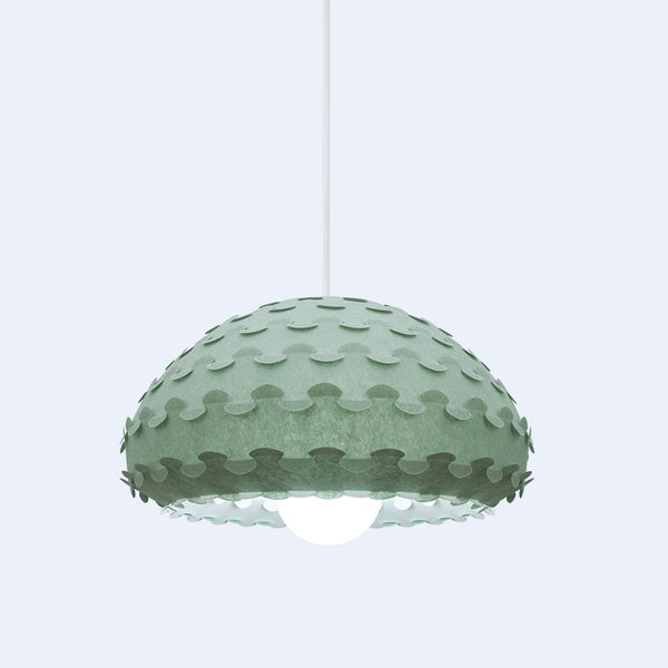 Rich Green Pendant Lamp by 24d-studio