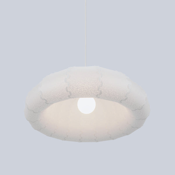 Voluminous and bright Puff Ceiling Lamp made in Japan
