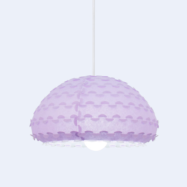 interlocking detail in Lavender Kasa lamps by 24d-studio