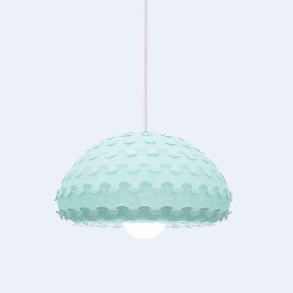 colorful dome pendant lamp Kasa by 24d-studio