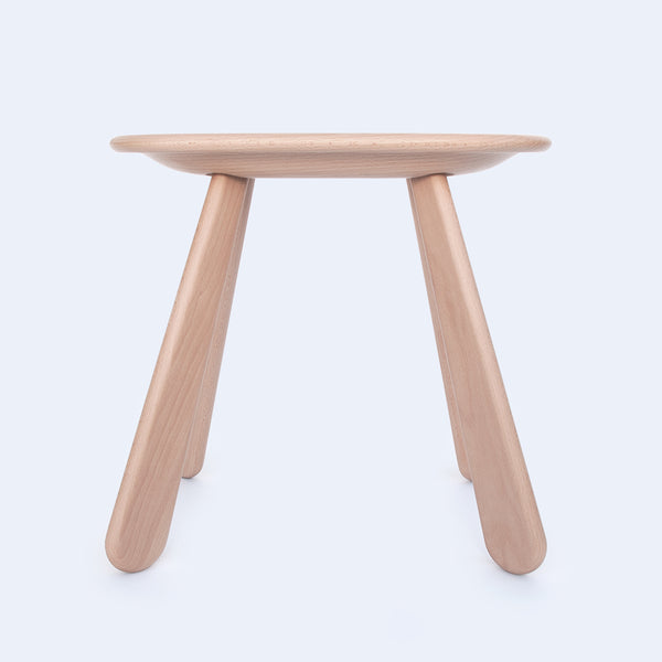 Wood stool is inspired by Torii gates in Japan made by 24d-studio