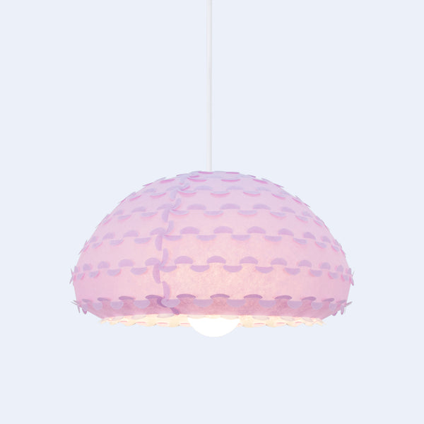 Kasa Lamp shade hue changes depending on color temperature of the light bulb