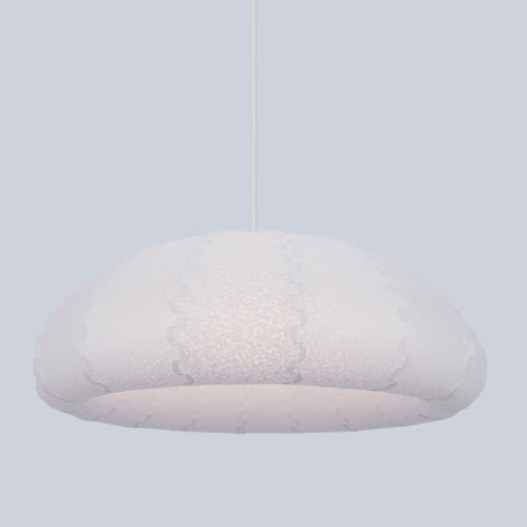 Minimalist White Large Puff Pendant Light made by 24d-studio