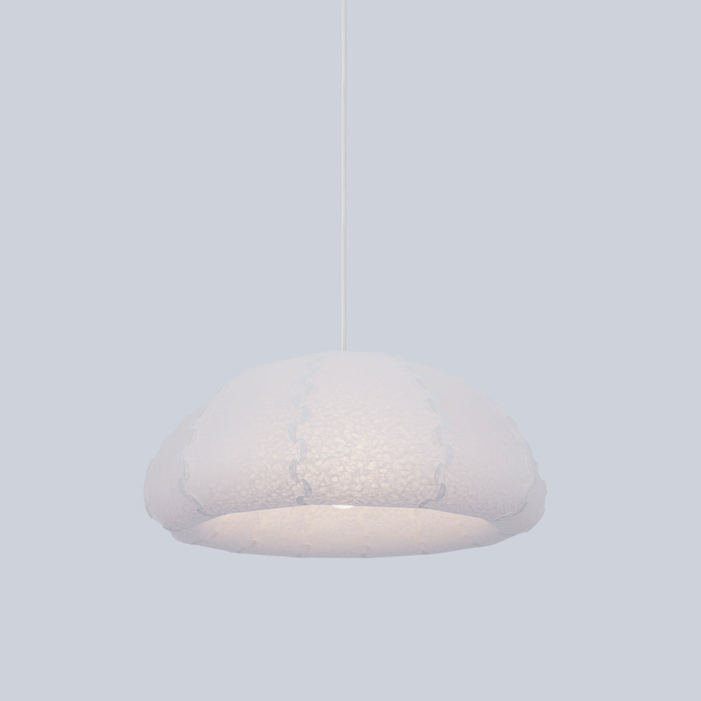 Small dome shaped ceiling lamp Puff made  by 24d-studio