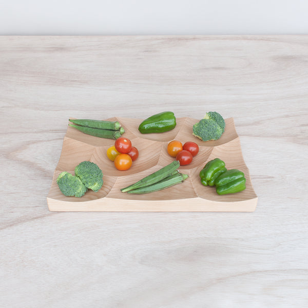 Use Large Storm Tray as vegetable platter for everyday and parties