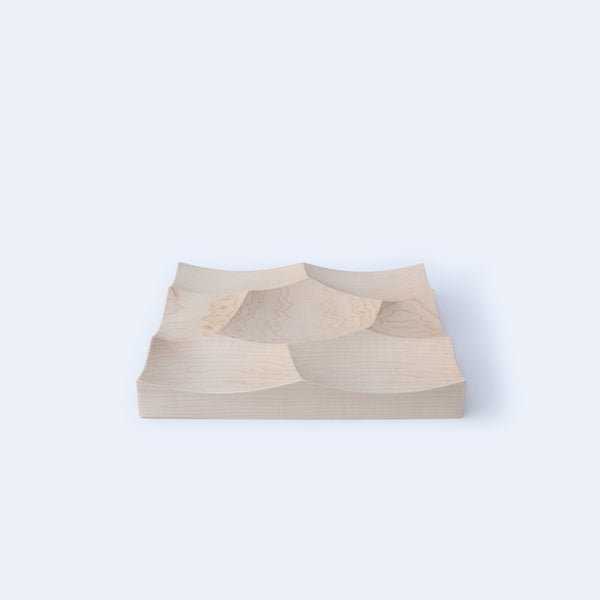 Small Storm Tray in maple wood by 24d-studio