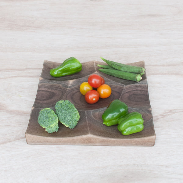 Small Strom Tray is a perfect decoration for a party or as everyday vegetable snack holder.