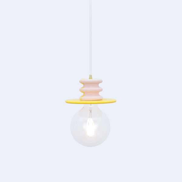 Yellow and Pink Pendant Light | Frutti