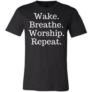 Unisex Worship Repeat Short-Sleeve T-Shirt
