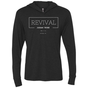 Unisex Rev Triblend LS Hooded T-Shirt