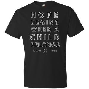Child Belongs Tri-Blend Youth T-Shirt