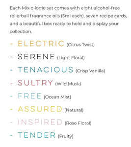 M6001 Mixology Blendable Perfume