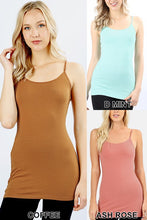 132 solid cami's assorted colors