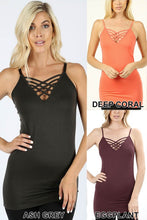 134 Assorted Colors of Cage Cami