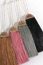A04 Tassel Necklace Assorted Colors