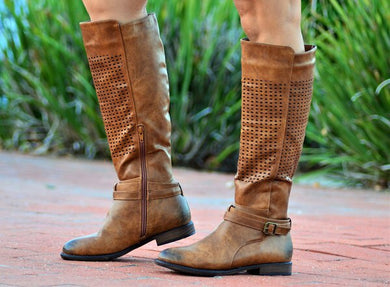 3022 brown boot