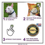 How to create a, custom pet pillow, custom pet photo pillow, custom pillow of your pet