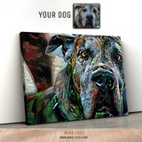 GRAFFITI PAINT STYLE PORTRAIT - FEATURING YOUR DOG!