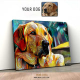 STAINED GLASS DOG PORTRAITS - FEATURING YOUR DOG!