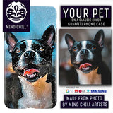 Classic Graffiti Street Style | Custom Phone Case Featuring Your Dog! | Unique Pet Gift