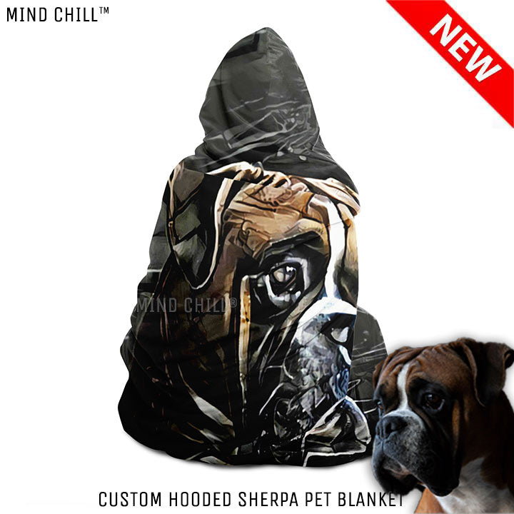 Urban Graphic Style Custom Pet Blanket - Mind Chill Pet Blankets